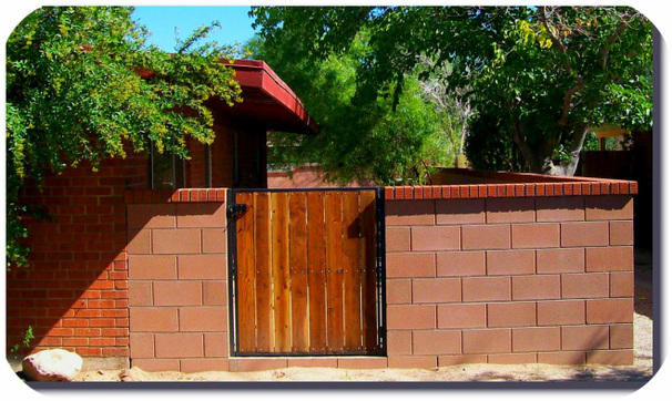 Block Wall Brick Cap Retaining Wall Brick Cap Wooden Gate Fence Replacement